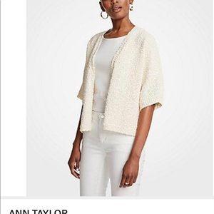 ANN TAYLOR Small Open Cardigan